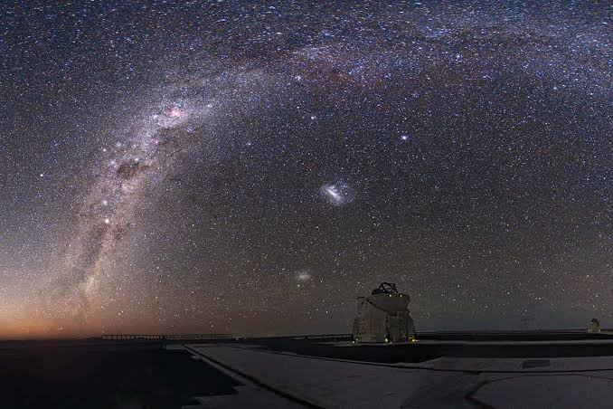 Very Large Telescope The sharp eye of the Very Large Telescope in Chile may have seen shifting constants